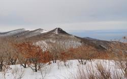 Закат на г. Тимпур (422 м), Береговой хребет.  28 марта 2020 г.